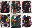 ミロ リトグラフ IV Miro Litografo 1969-1972 /Joan Miroのサムネール