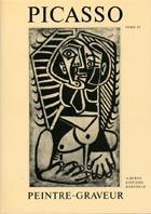 ピカソ・モノタイプ作品レゾネIV Picasso Peintre-Graveur. Catalogue Raisonne de l'oeuvre grave et lithographie et des Monotypes 1946-1958/Bernhard Geiser