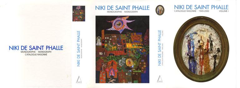 ニキ・ド・サンファール カタログレゾネ/モノグラフ Niki de Saint Phalle Cataloue raisonne・1949-2000 Vol.1/Monographie・Monograph/