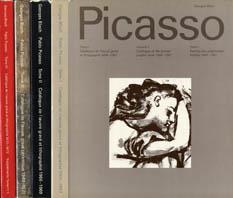 ピカソ版画・陶器レゾネ Pablo Picasso Catalogue de l'oeuvre grave et lithographie 1904-1972 全4巻揃/Georges Bloch