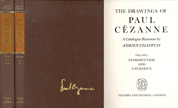 ポール・セザンヌ・レゾネ 全2巻揃 The Drawings Of Paul Cezanne Catalogue Raisonne/Adrien Chappuis
