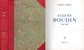 ユージン・ブーダン レゾネ Eugene Boudin 1824-1898/Robert Schmit