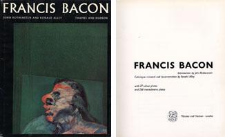 フランシス・ベイコン・レゾネ Francis Bacon Catalogue raisonne and doumentation/Ronald Alley/John Rothenstein
