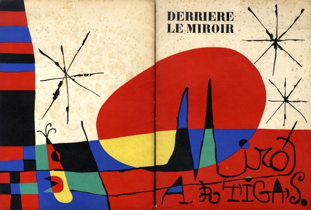 デリエール・ル・ミロワール87-89 Derriere Le Miroir No87-89 Joan MIRO & Llorens Artigas/Miro