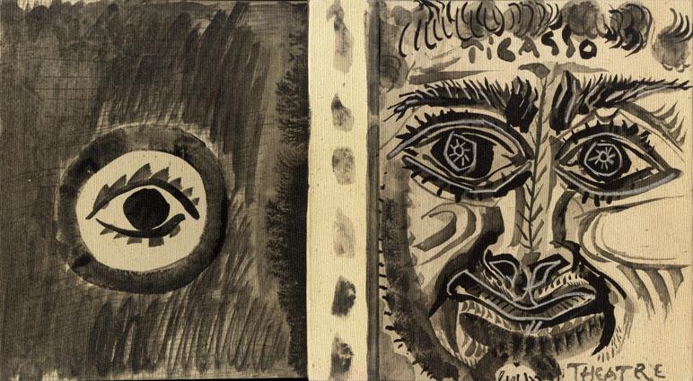 パブロ・ピカソ テアトル Picasso: Theatre/Douglas Cooper
