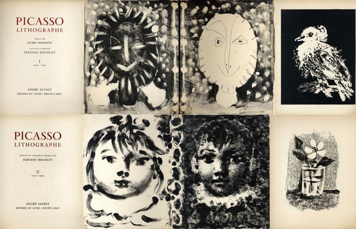 ピカソ石版画全集 Picasso Lithographe 全4巻揃/Pablo Picasso・Fernand Mourlot文