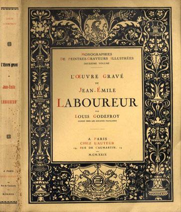ラブルール版画集 L'oeuvre Grave De Jean-Emile Laboureur/Louis Godefroy