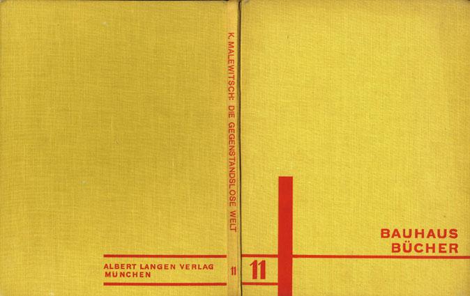バウハウス叢書11 Bauhaus Bucher11:Die Gegenstandslose Welt/カジミール・マレーヴィチ