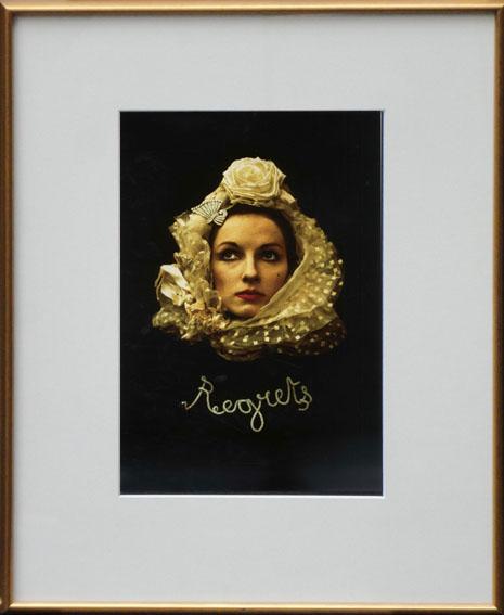 イリナ・イオネスコ プリント額 「Regrets」/Irina Ionesco