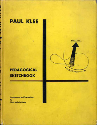 パウル・クレー Pedagogical Sketchbook/Paul Klee