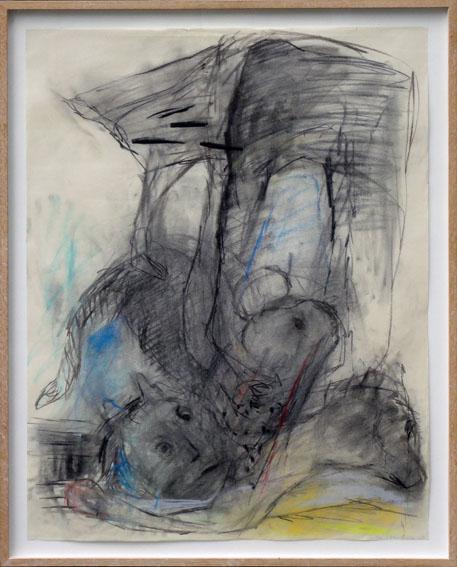 イケムラレイコ画額「Untitled」/Keiko Ikemura