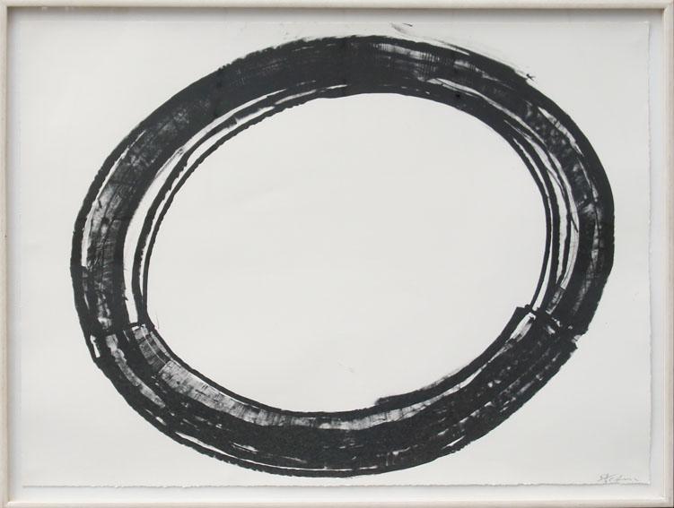 リチャード・セラ版画額「Double Ring Ⅱ」/Richard Serra