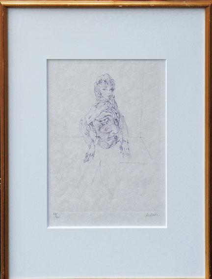 ハンス・ベルメール版画額「Prestidigitateur」/Hans Bellmer