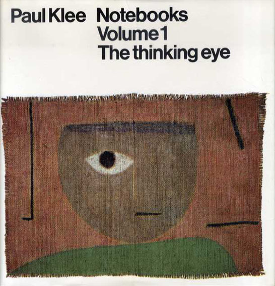 パウル・クレー Paul Klee Notebooks Volume1: The thinking eye/Volume2: The neture of nature 2冊組/Jurg Spiller