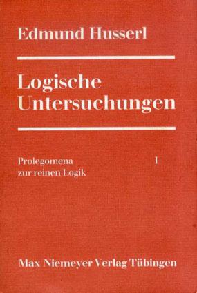 論理学研究 Logische Untersuchungen/エトムント・フッサール(Edmund Husserl)