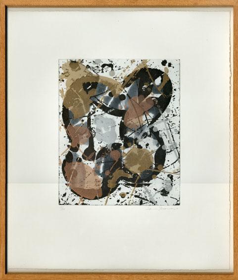 サム・フランシス版画額「Untitled」/Sam Francis
