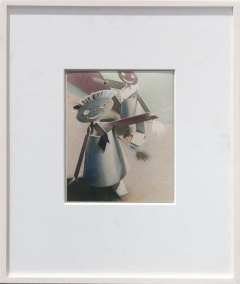 アレクサンドル・ロトチェンコ プリント額「ザモスヴェリ(自動おもちゃ)」/Alexander Rodchenko
