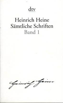 ハインリヒ・ハイネ全集 Samtliche Schriften 全6巻揃/Heinrich Heine