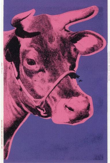 アンディ・ウォーホル版画額 「Cow」/Andy Warhol