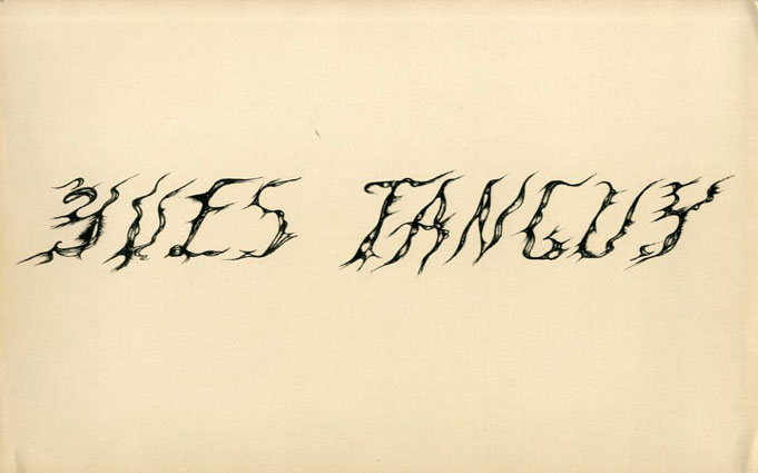 イヴ・タンギー Exhibition of Gouaches and Drawings by Yves Tanguy/Yves Tanguy