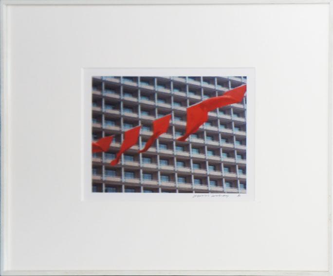 デイヴィッド・ホックニー プリント額「北京6-22」/David Hockney