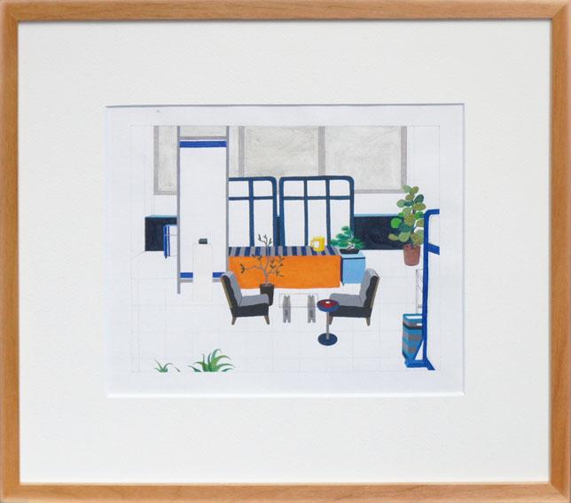 今泉康子(紺泉)画額/Yasuko Imaizumi