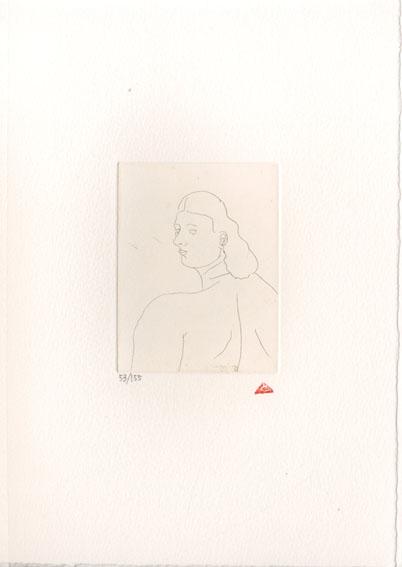 有元利夫版画額「『雲の誕生』より No.21」/Toshio Arimoto