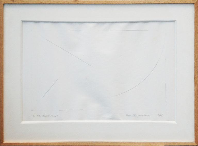 高松次郎画額/Jiro Takamatsu