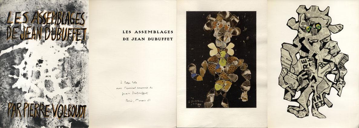 ジャン・デュビュッフェ Les Assemblages De Jean Dubuffet/Pierre Volboudt