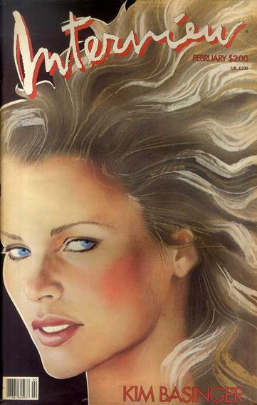 アンディ・ウォーホル 『インタヴュー』誌 Andy Warhol's Interview Vol.XVI No.2 February 1986/