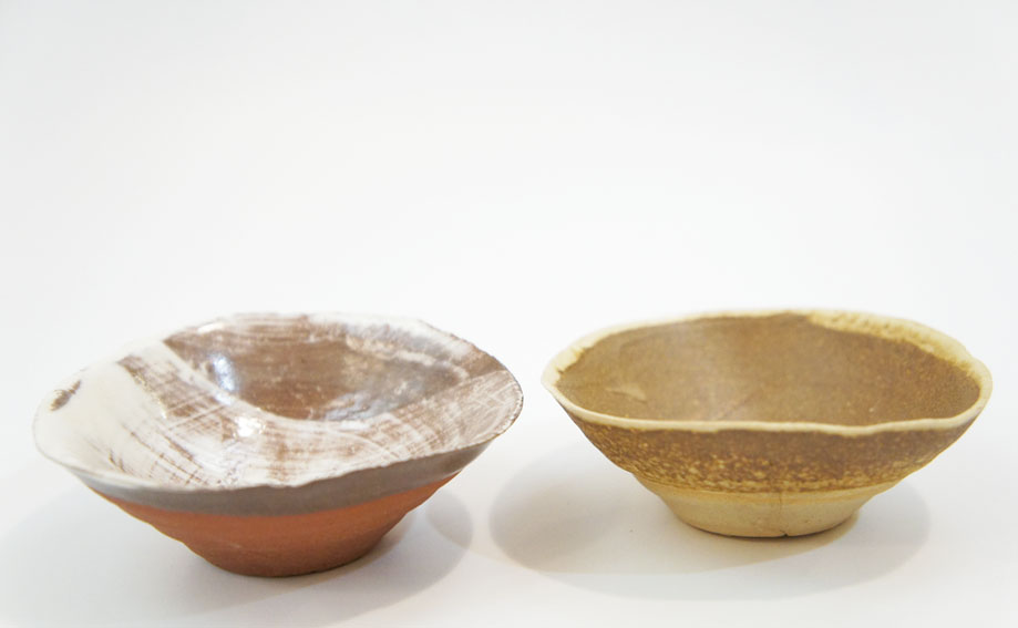 八木一夫陶器「対盃」/Kazuo Yagi