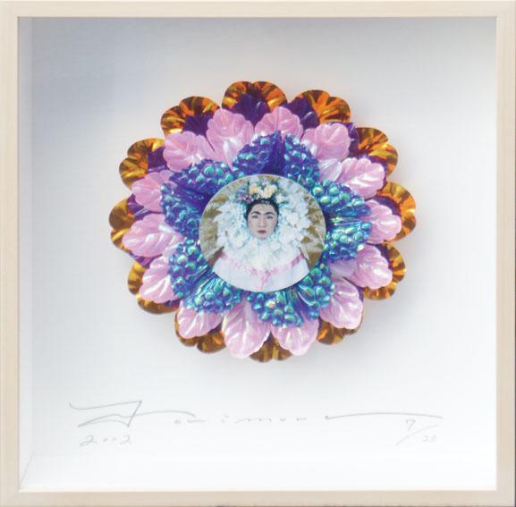 森村泰昌「花輪の中のフリーダ/花の輪と涙」/Yasumasa Morimura