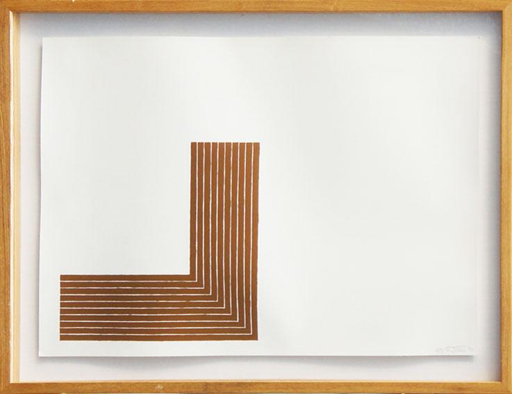 フランク・ステラ版画額 「Creede Ⅱ」/Frank Stella