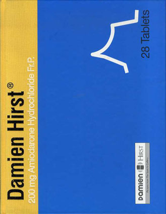 ダミアン・ハースト Damien Hirst: The Saatchi Gallery/Jonathan Barnbrook