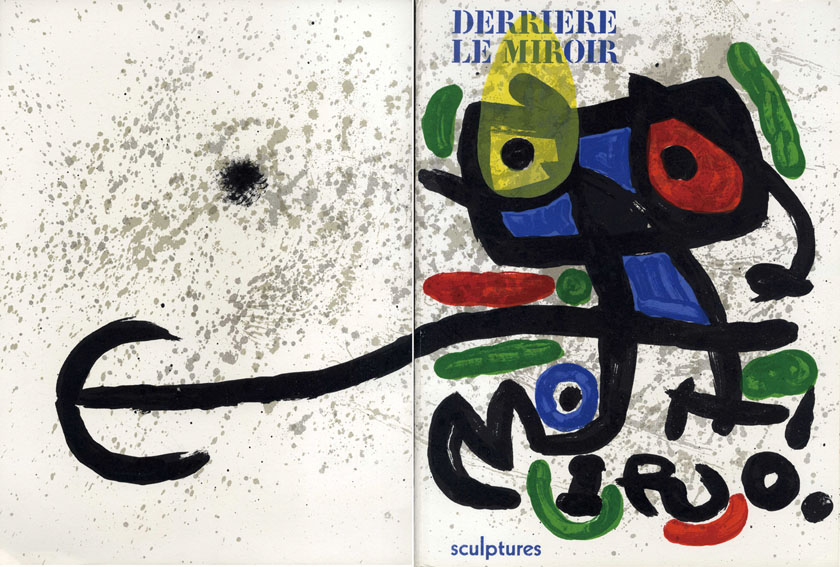 デリエール・ル・ミロワール186 Derriere Le Miroir No186 Les Sculptures de Miro/Joan Miro