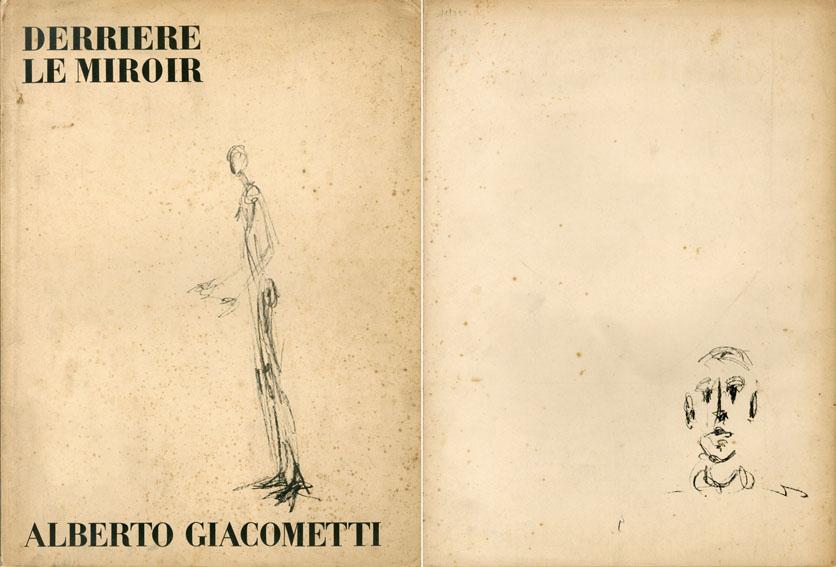 デリエール・ル・ミロワール98 Derriere Le Miroir No98 Alberto Giacometti ジャコメッティ/Alberto Giacometti