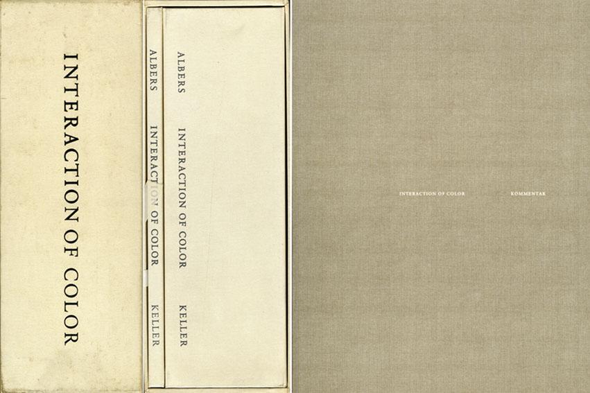 ジョセフ・アルバース Interaction Of Color (Die Wechselbeziehung der Farbe)/Josef Albers