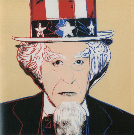 アンディ・ウォーホル版画額「Uncle Sam」/Andy Warhol