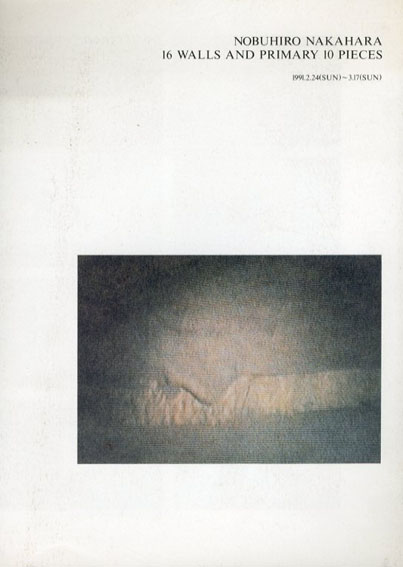 中原伸浩展 16の壁と最初の10の小品/