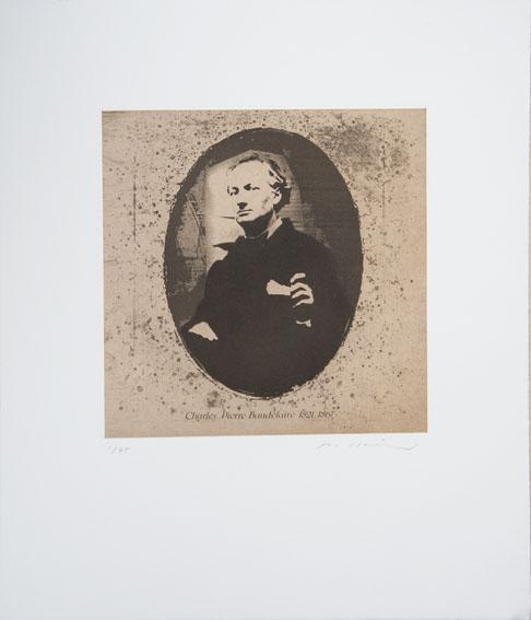 池田良二版画「Charles Pierre Baudelaire 1821-1867」/Ryoji Ikeda