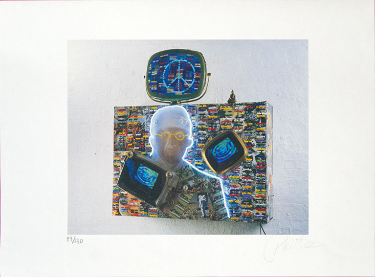 ナム・ジュン・パイク版画「1960-1970」/Nam June Paik(白南準)