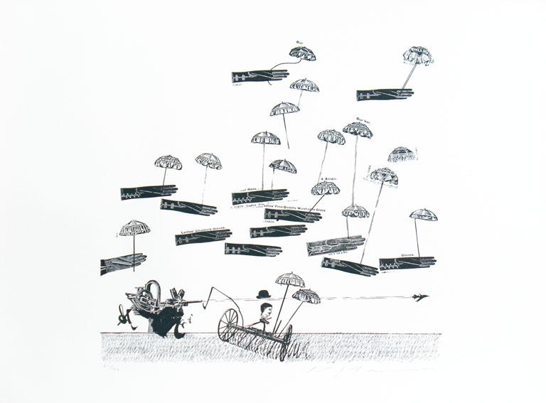 池田満寿夫版画「さらば懐しの日よ」/Masuo Ikeda