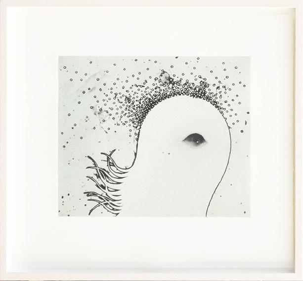 川島秀明版画額「spore」/Hideaki Kawashima