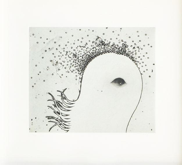 川島秀明版画額「spore」「spore」/川島秀明