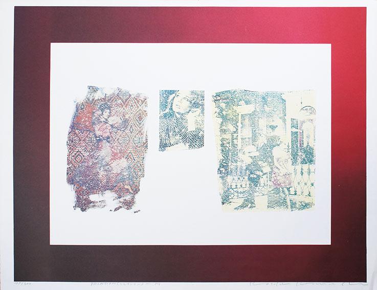 木村光佑版画「Relation(リレイション)‐M」/Kosuke Kimura