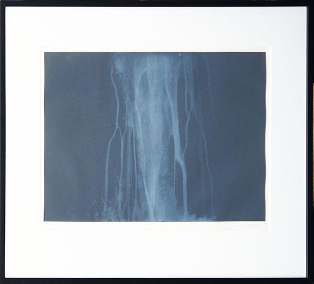 千住博版画額「ウォーターフォール・オン・プリント#16」/Hiroshi Senju