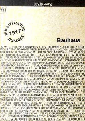 IRB Verlag Bauhaus Auflage/