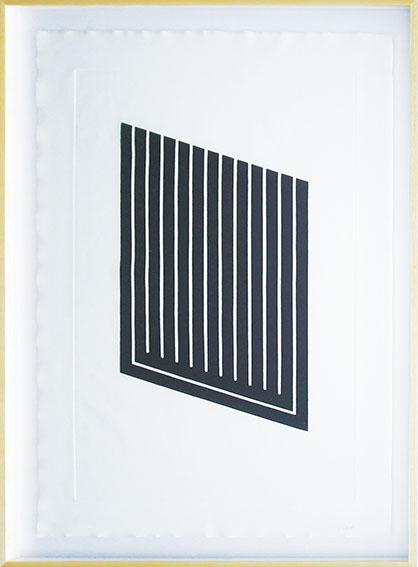 ドナルド・ジャッド版画額「Untitled-2」/Donald Judd