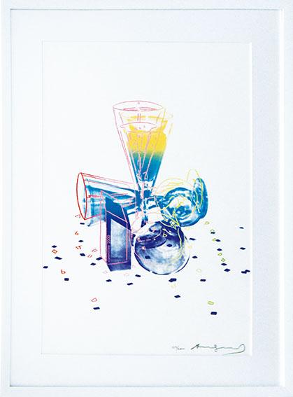 アンディ・ウォーホル版画額「Committee 2000」/Andy Warhol