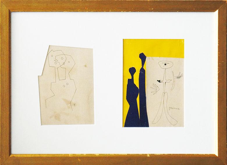 吉原治良画額「『デモス』表紙絵・作品」/Jiro Yoshihara